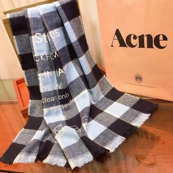 Acne studios wool scarf NWT Authentic